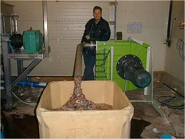 厨余垃圾输送泵